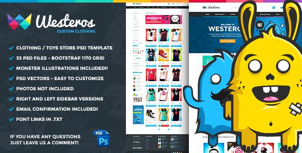 The Trickster - Multipurpose PSD Product Builder - 25