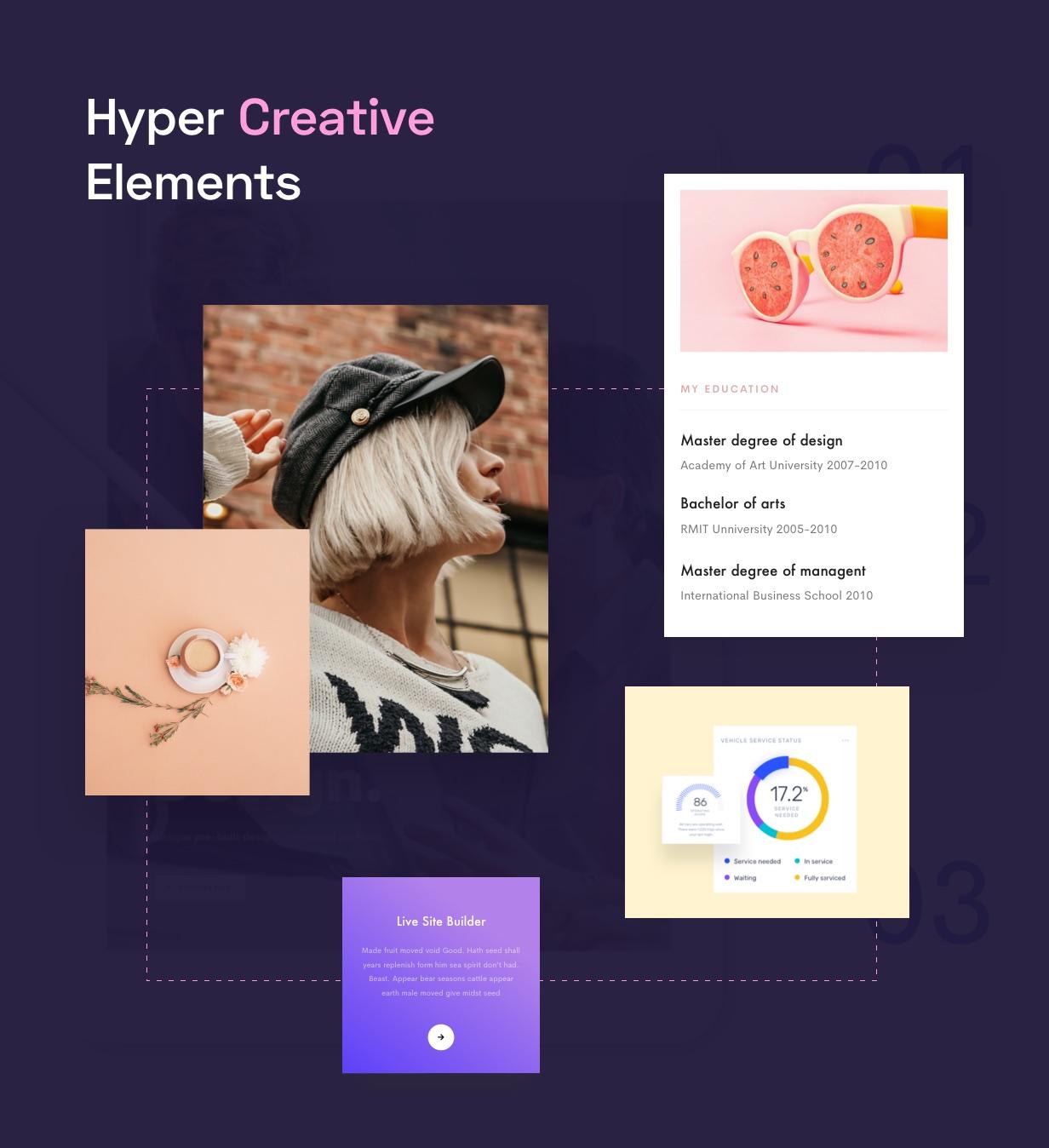 creatove elements