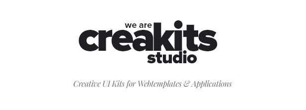 CreaKits - Creative UI Kits for Webtemplates & Applications