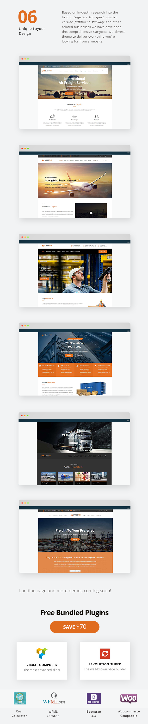 Cargotics - WordPress Theme For Transportation, Logistics and Package  Services