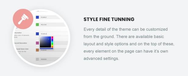 Style Fine Tunning