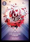 Love Beats Flyer