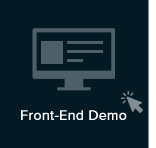 click for frontend setting