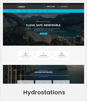 Hydrostations WordPress theme