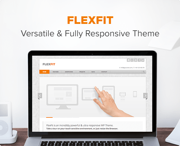 FlexFit - Responsive Business WordPress Theme by minti | ThemeForest