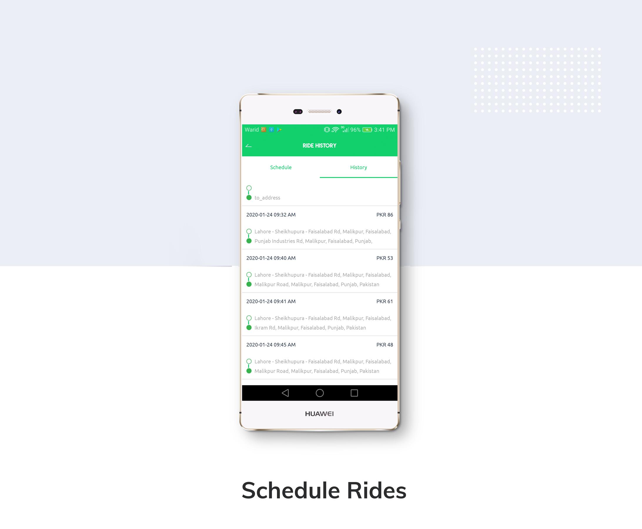 Kareem Taxi App - Cab Booking Solution + admin panel - 7
