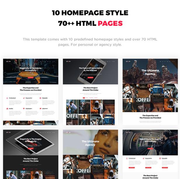 Kordon - Responsive One Page & Multi Page Portfolio Template - 2