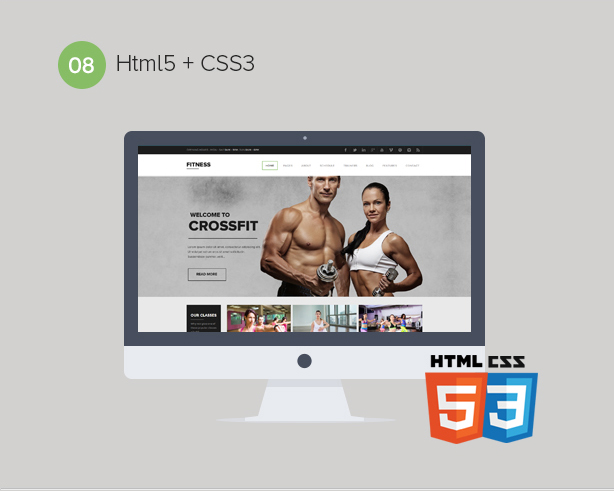 Gym WordPress Theme | Fitness - 9