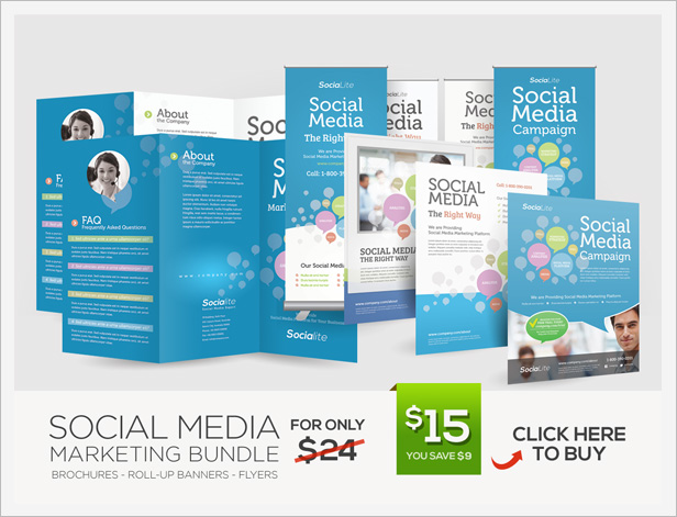 Social Media Marketing Flyer By Kinzi21 | Graphicriver
