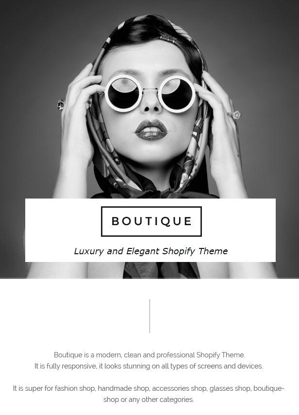 Boutique - Responsive Shopify Theme - 11