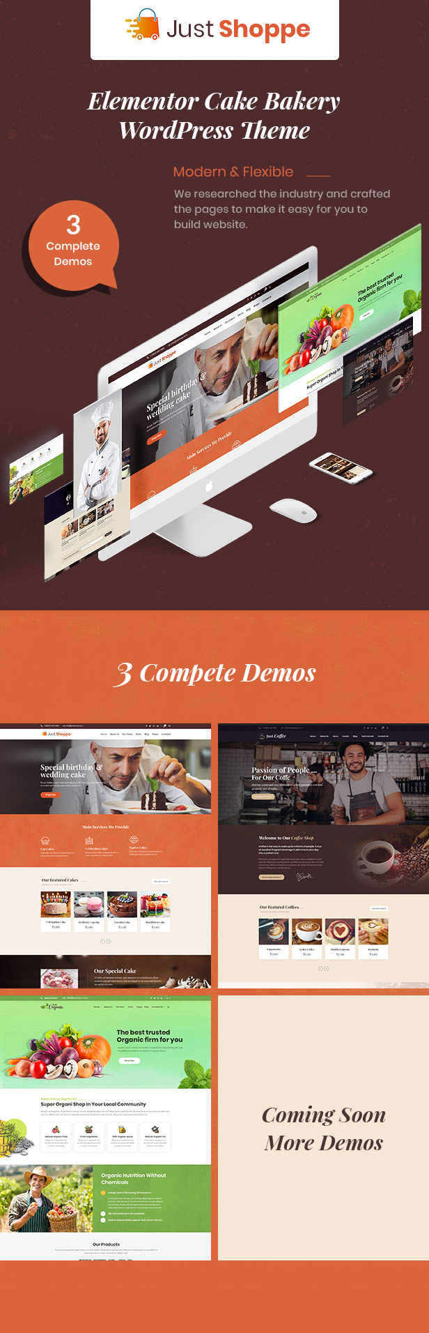 cake wordpress theme