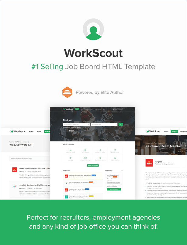 workscout - job board html template nulled  WorkScout - Job Board HTML Template by Vasterad | ThemeForest