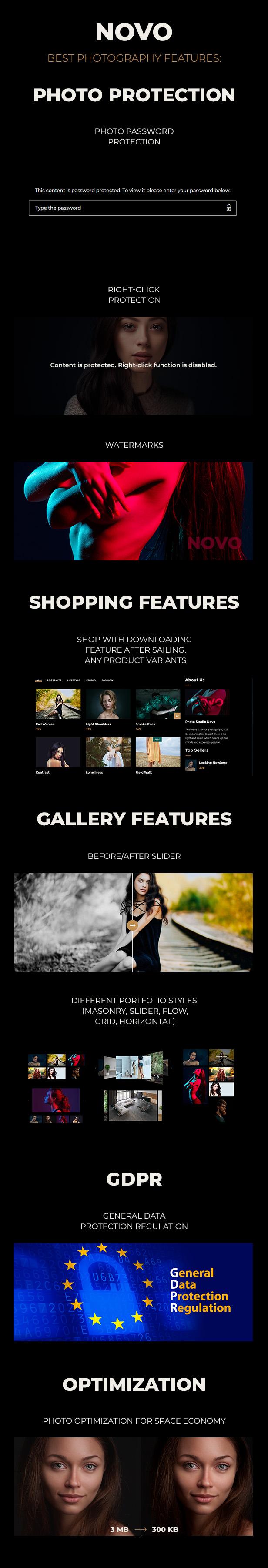 Photography Novo | Photography WordPress for Photography - 5