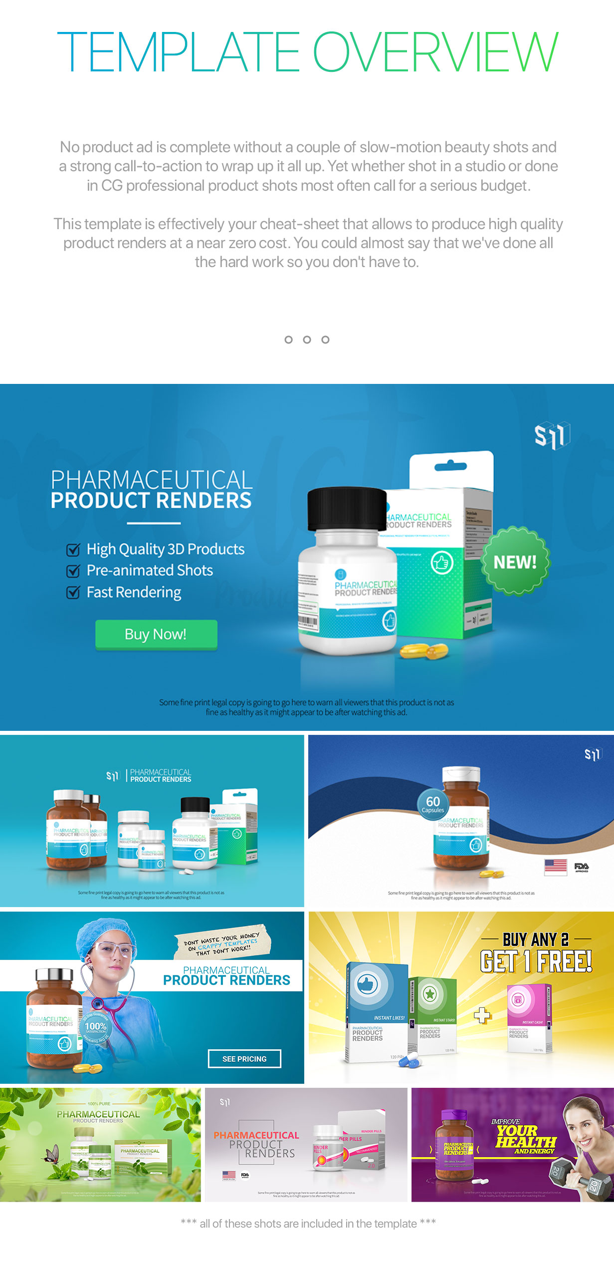 Pharmaceutical Product Renders - 2