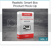 photo realistic smart box product mock-up vol2