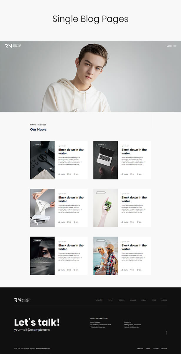 TheRN - Creative Agency HTML5 Template - 7