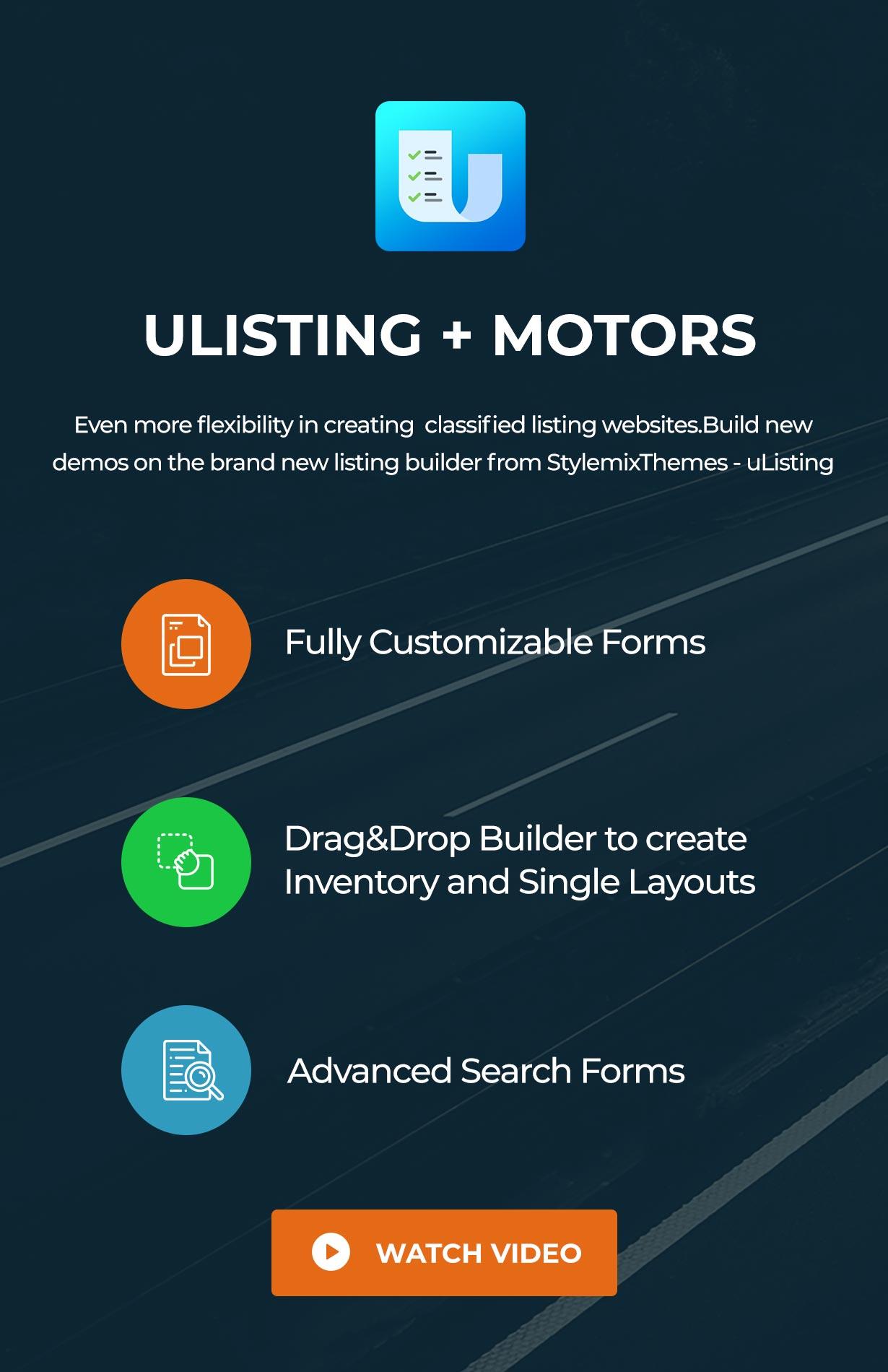 Motors - Car Dealer, Rental & Classifieds WordPress theme - 17