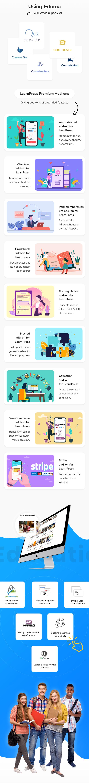 Education WordPress theme - Using LMS plugin LearnPress