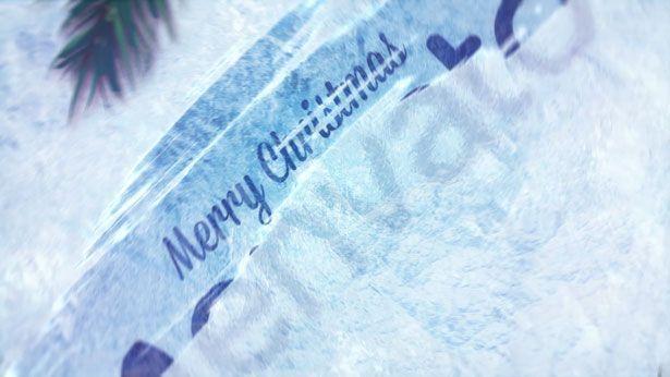 Winter Holidays Logo Reveal - 2