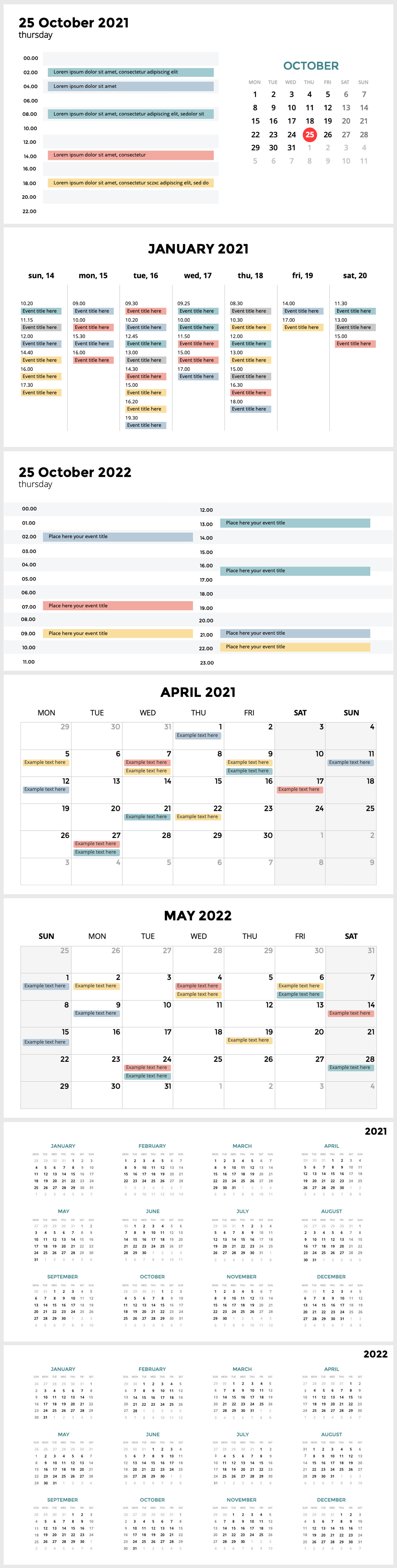 Huge Infographics Bundle! Lifetime Updates! PowerPoint, Photoshop, Illustrator. - 233