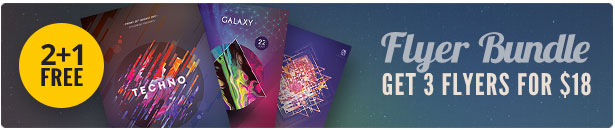 Abstract Flyer Bundle Vol.3