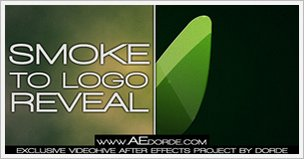 Smoke to Logo Reveal