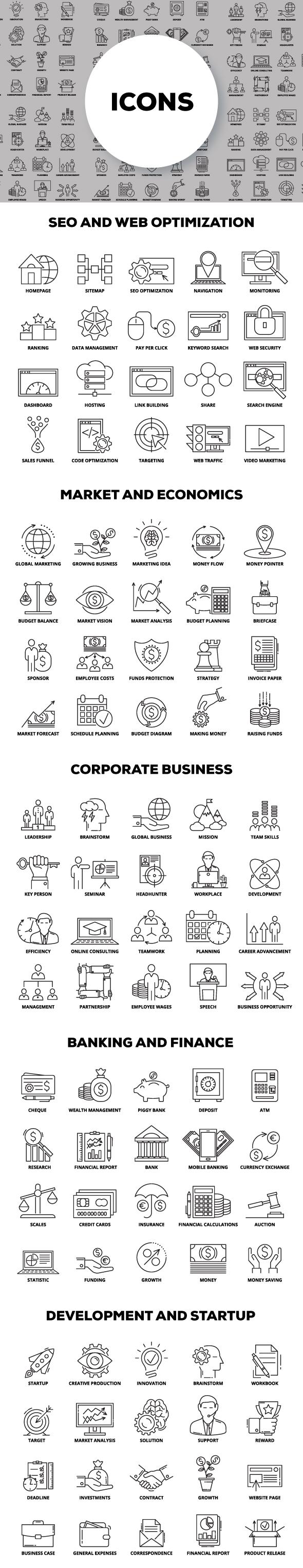 Multipurpose Infographics PowerPoint Templates v.5.0 - 176