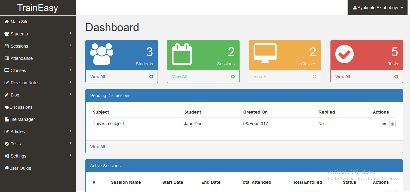 Download Traineasy V1 2 Training Management