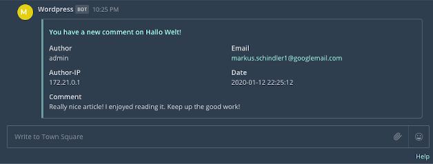 Comment2Messenger - 2