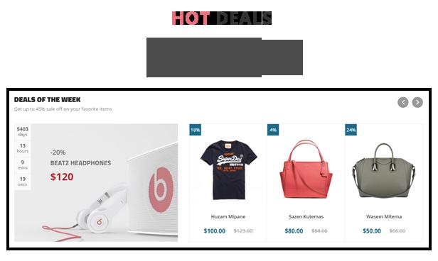 H2Shop - Deal