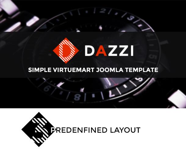 Vina Dazzi - VirtueMart Template for Watches Store - 14