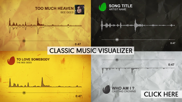 Classic Music Visualizer by NAEL_Studio | VideoHive