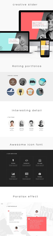 PN - Portfolio & Agency WordPress Theme - 1