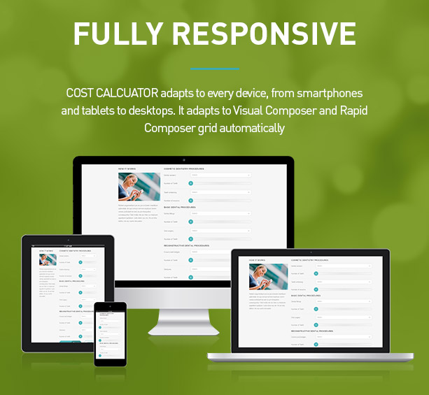 Cost Calculator  Wordpress Plugin By Boldthemes  Codecanyon