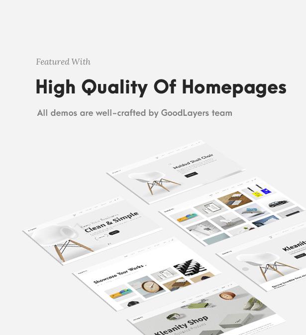 Kleanity - Minimalist WordPress Theme / Creative Portfolio - 4