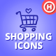 80 Hand-drawn Shopping & Commerce Icons - GraphicRiver Item for Sale