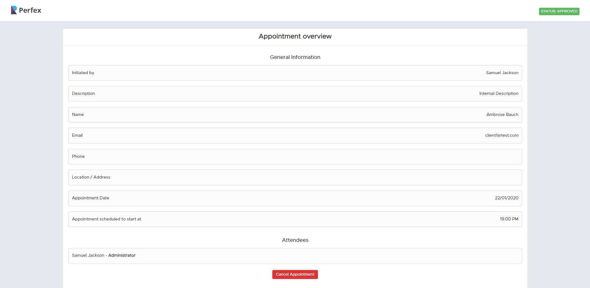 Appointly - Perfex CRM Appointments - 17