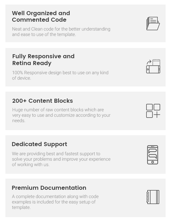 Pixlr - A Premium One Page Multipurpose HTML 5 Template