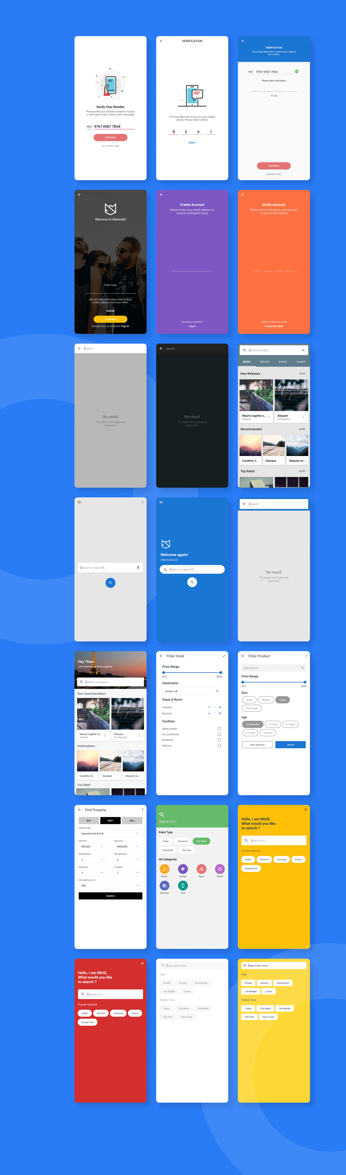 MaterialX - Android Material Design UI Components 2.7 - 30