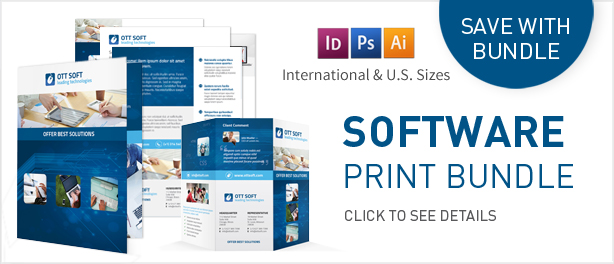 It And Software Trifold Brochure By MikePantone  Graphicriver