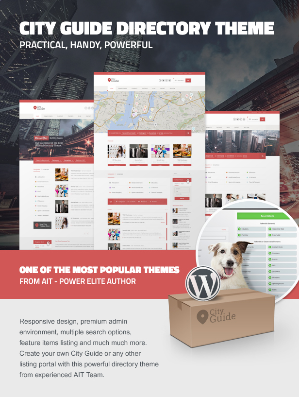 City Guide Directory Theme