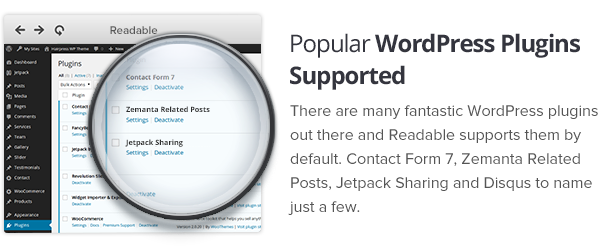 Readable - Blogging WordPress Theme Focused on Readability by