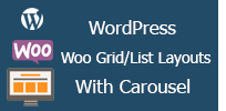 Woocommerce Grid Layout with Carousel