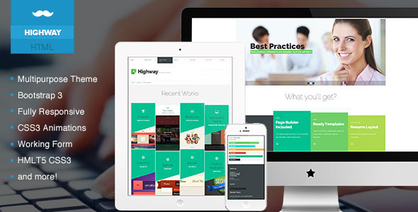 MADE - One Page Portfolio - Fullscreen - 1