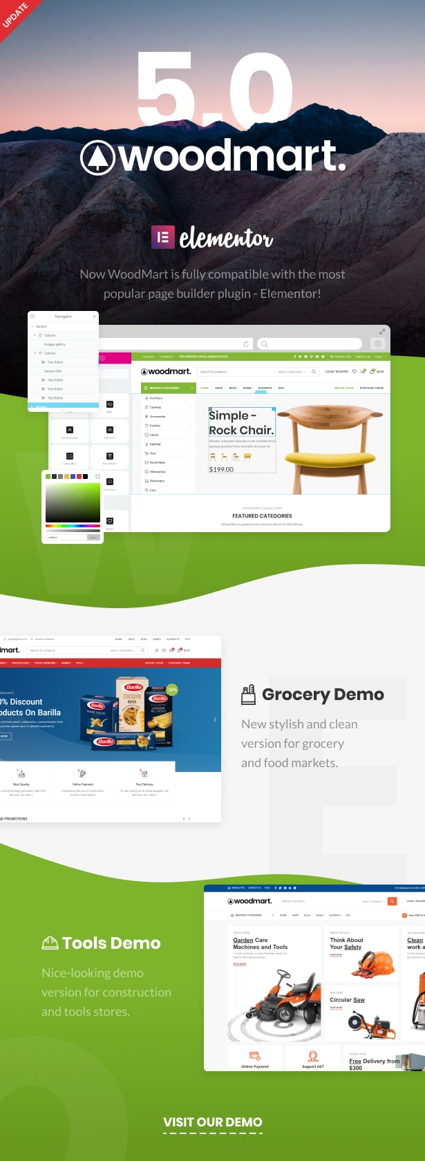 Woodmart Responsive Woocommerce WordPress Theme By Xtemos Themeforest