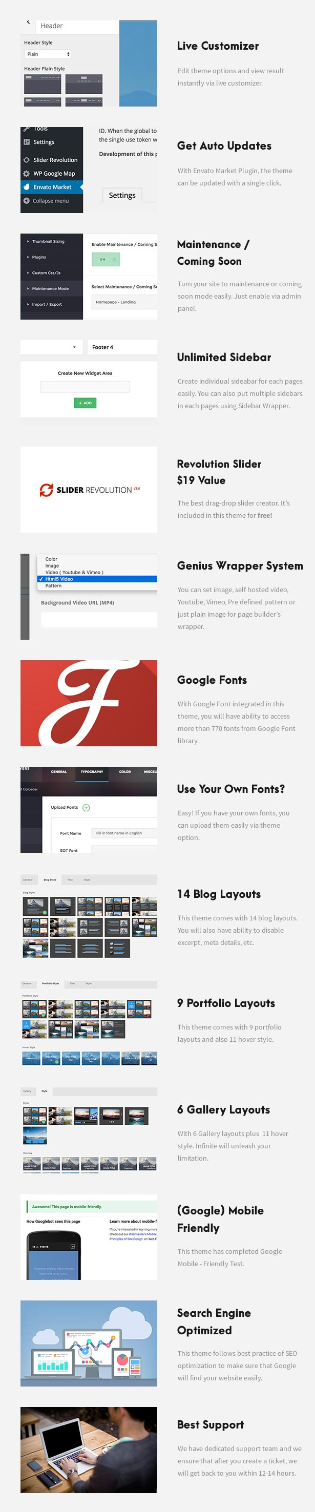One Page Pro - Multi Purpose OnePage WordPress Theme - 9