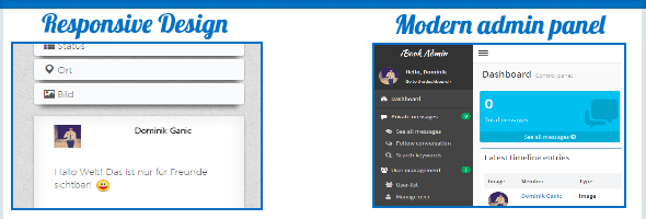 Socialbook - The premium social network platform - 3