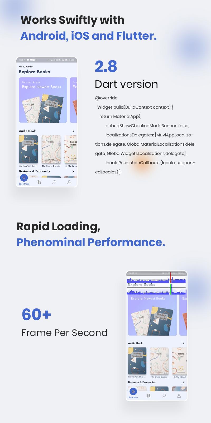 Bookkart: Flutter Ebook Reader App For WordPress with WooCommerce - 20