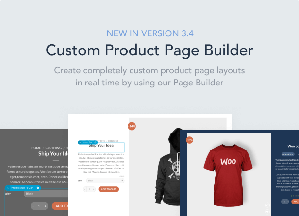responsive wordpress u0026 woocommerce theme with incredible user experience