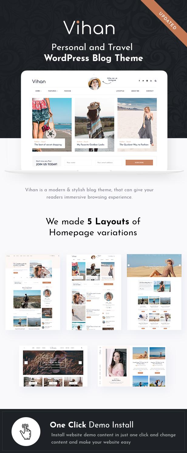 Vihan WordPress Theme